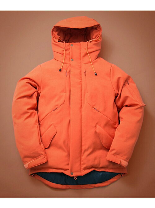 オレンジ NANGAダウンジャケットの画像
