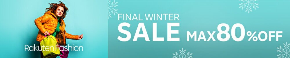 FINAL WINTER SALE MAX80%OFF