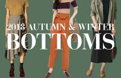 2018 AUTUMN & WINTER BOTTOMS