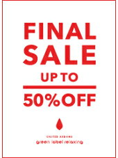 [UNITED ARROWS green label relaxing]FINAL SALE!2018 サマーセール最終マークダウン!