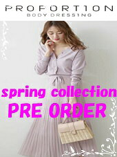 [PROPORTION BODY DRESSING]◆2020 spring collection PRE ORDER◆