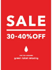 [UNITED ARROWS green label relaxing]SUMMER SALE START!