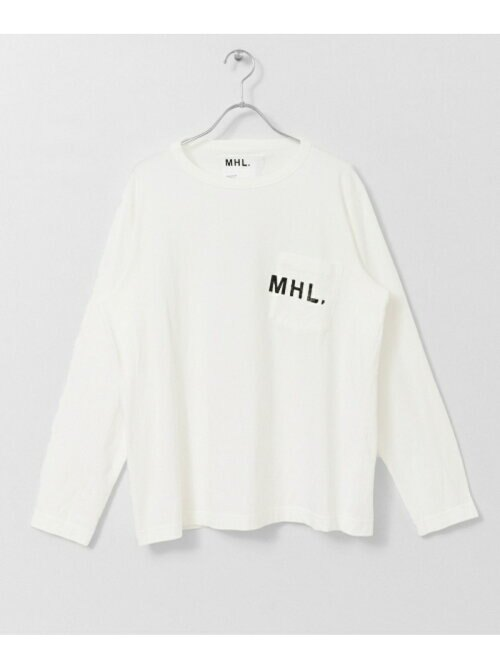 MHL.×URBAN RESEARCH 別注PRINTED LONG-SLEEVE T-SHIRTSの画像