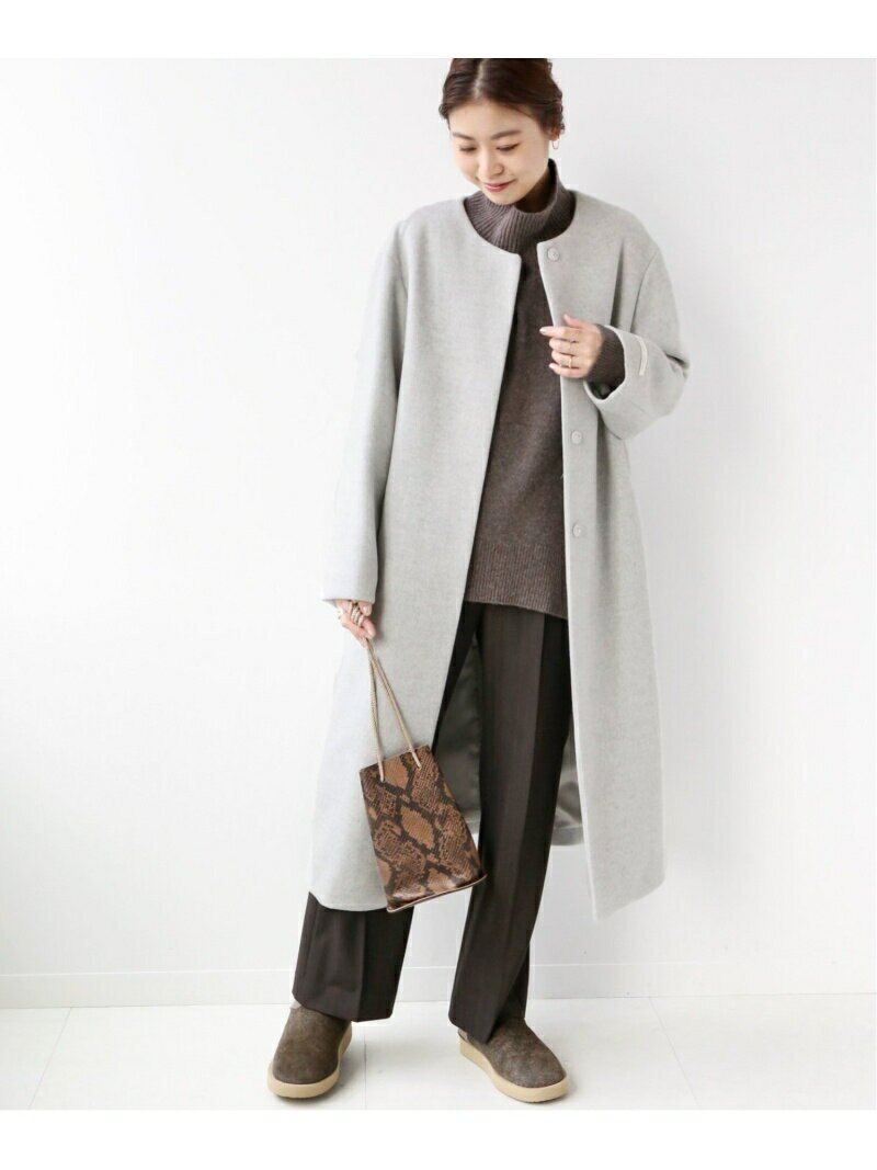 LANA WOOL 140 C/N COATの画像